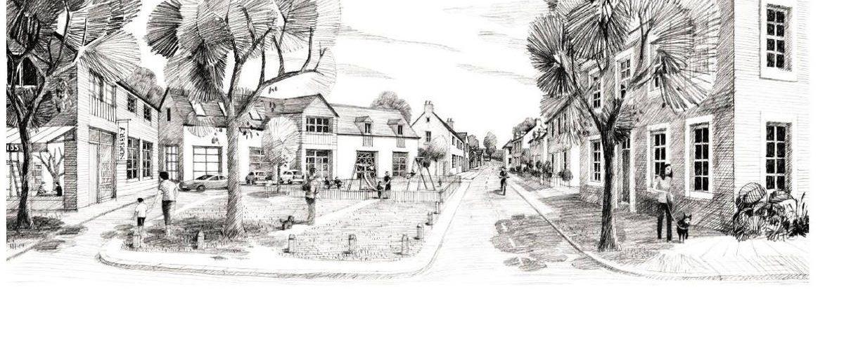 Future vision of new homes at Watton-at-Stone
